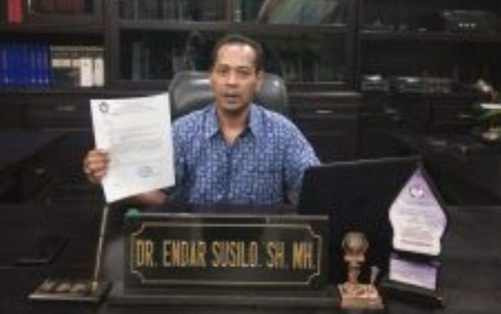 DR Endar Susilo SH MHKetua Komnas Perlindungan Anak Kabupaten Sragen